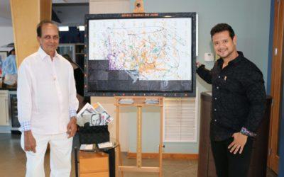 Kaizer Talib homenageia Rogerio Peixoto com uma exposição exclusiva