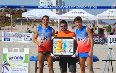 Deerfield Beach Footvolley Cup brings cultural attraction with artist Rogério Peixoto (R.Peixoto)